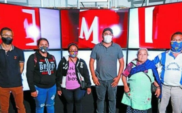 Some of the kidnapped men's family members appeared on Milenio TV on Wednesday to push for action on the case.